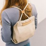 Picture of Trendy Textile backpack